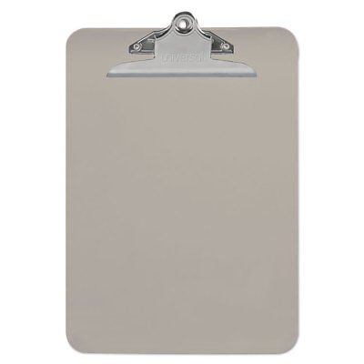UNIVERSAL Plastic Clipboard with High Capacity Clip 1