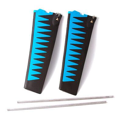 Hobie Mirage ST V2 Turbo Fin Kit - Blue/Black Color Hobie Mirage Turbo Fin