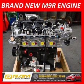 VAUXHALL VIVARO ENGINE - BRAND NEW M9R 780 2.0 DCI