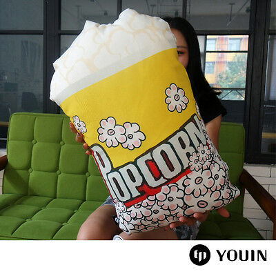 Decorative popcorn cushions movie night party ideas pillows bolsters home decor - Popcorn Party Ideas