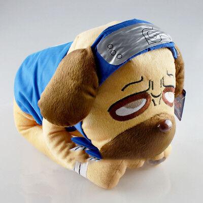 Japanese Anime Naruto Kakashi Pakkun Dog Plush Dolls Stuffed Animals Toys