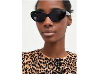 ZARA rounded cat eye sunglasses