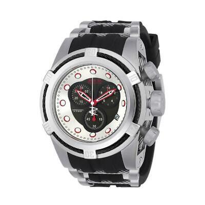 Invicta Bolt Zeus 22160 Men's Cable Round Chronograph Black Silicone Watch