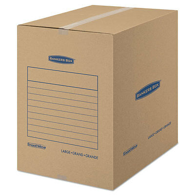 Bankers Box Smoothmove Basic Large Moving Boxes 18l X 18w X 24h Kraftblue 15