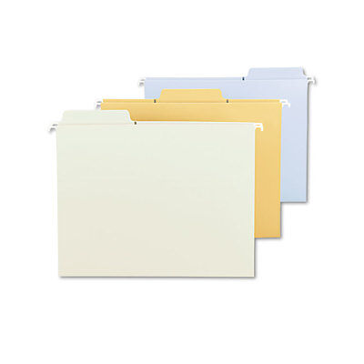 Smead Fastab Hanging File Folders Letter Assorted Fashion 18box Smd64054