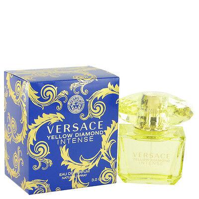 Versace Yellow Diamond Intense Eau De Parfum Spray Fragrance New Authentic EDP