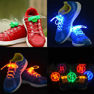 LED SHOE LACES 50% OFF BRAND NEW 2 PAIR FOR JUST $8.99