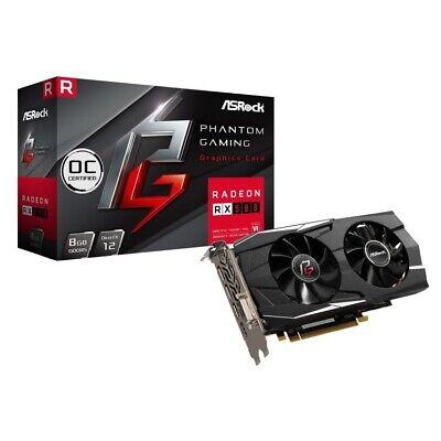 ASRock Phantom Gaming D Radeon RX 580 8G OC 8GB GDDR5 Grafikkarte - DVI/HDMI/3x