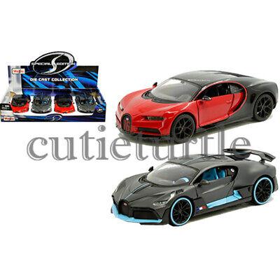 Maisto Bugatti Chiron Sport or Divo 1:24 Diecast Model Dispay Toy Car 34524-26 Maisto Toy Cars