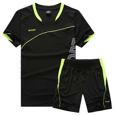 Soccer Jerseys & Shorts Boys Sports Set Costumes for Kids Clothes Suits Uniforms