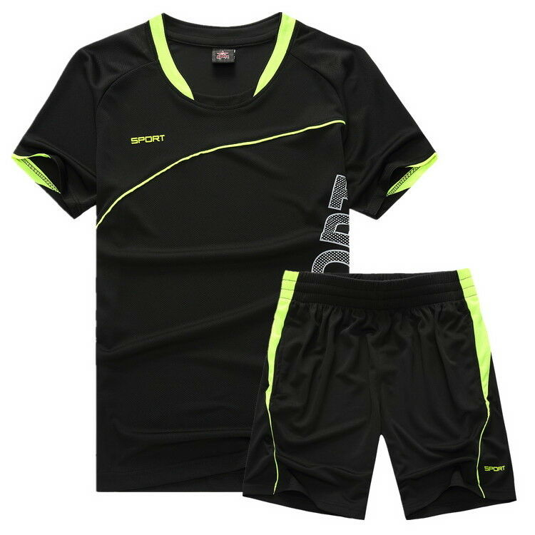 Soccer Jerseys & Shorts Boys Sports Set Costumes for Kids Cl