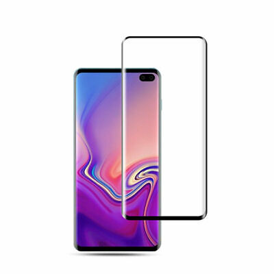 Samsung Galaxy S10 Lite Plus Curved Full Cover Tempered Glass Screen Protector