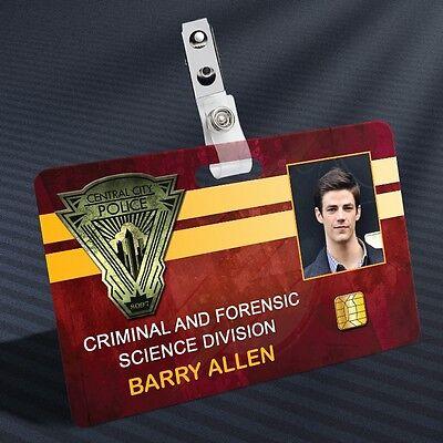 The Flash - Barry Allen Prop ID Badge