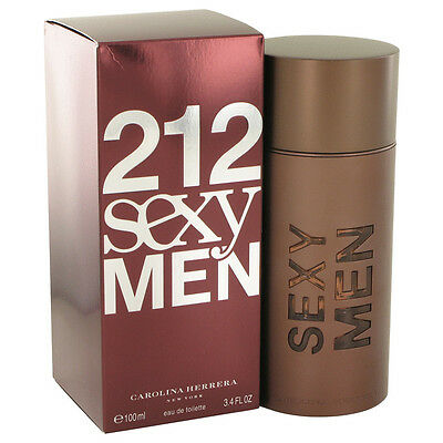 Carolina Herrera 212 Sexy Men Fragrance 3.4oz Eau De Toilette MSRP $90 NIB segunda mano  Embacar hacia Mexico