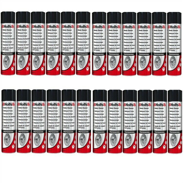 24 x 600ml Holts Bremsenreiniger 246060 Brake Cleaner Power Clean Quick Dry