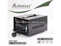 Proflex 2000W single phase 2000w step down (220>110vac) voltage transformer