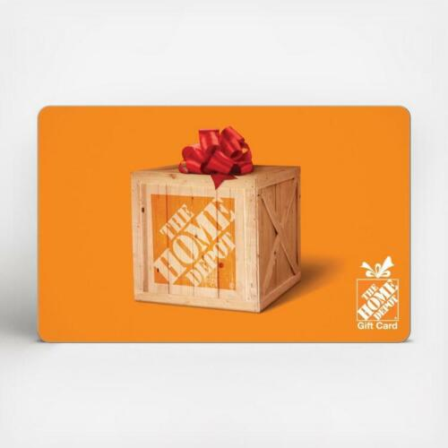 $50 Home Depot Gift Card - FREE SHIPPING