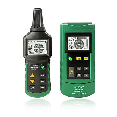 Proffessional My6818 Wire Cable Tracker Locator Network Telephone Line Detector