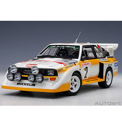 AUTOart Audi Quattro S1 Rally Monte Carlo 1986 #2 1:18 Model Car 88601