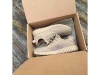New Oxford Tan Yeezy Boost with Box