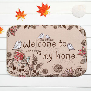 home decor welcome home area rug carpet bathroom floor mat