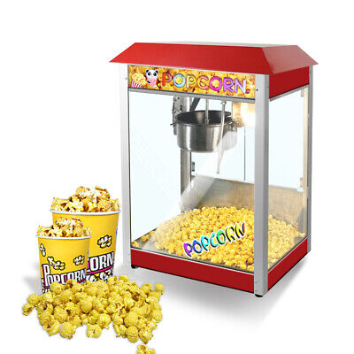 Commercial 8-ounce Electric Popcorn Machine Popcorn Makerpopcorn Poppers