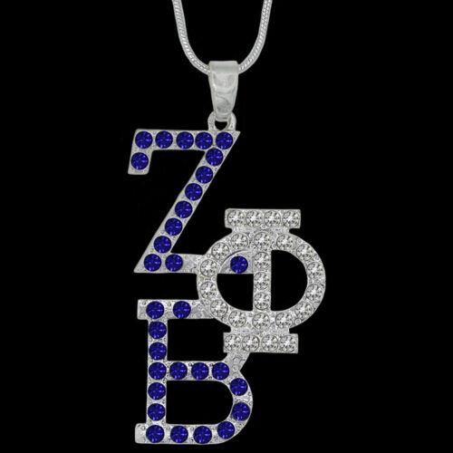 Zeta Phi Beta Sorority Stacked Necklace-New!
