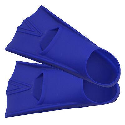 US Silicone Swim Training Fins Flippers Scuba Sea Training Short Fins for (Silicone Fins)