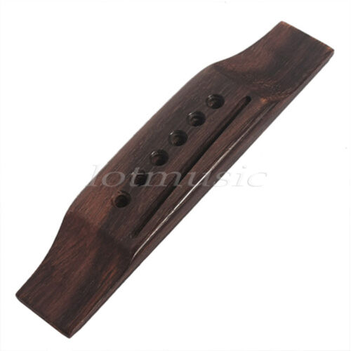 6 string acoustic guitar saddle bridge for martin replacement parts rosewood ebay. Black Bedroom Furniture Sets. Home Design Ideas