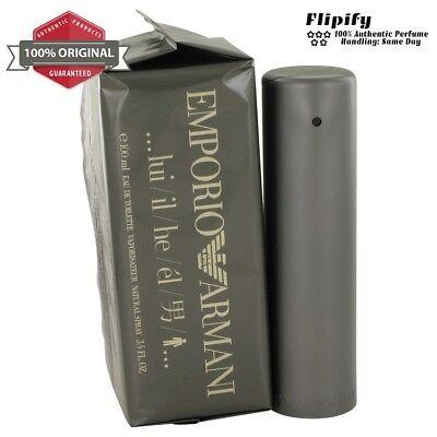 - EMPORIO ARMANI Cologne Giorgio Armani EDT Spray for Men 3.3 3.4 1.7 oz 100 ML