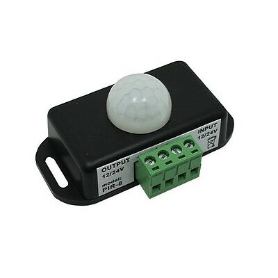 1pcs Automatic Dc 12v-24v 8a Infrared Pir Motion Sensor Switch For Led Light Sty