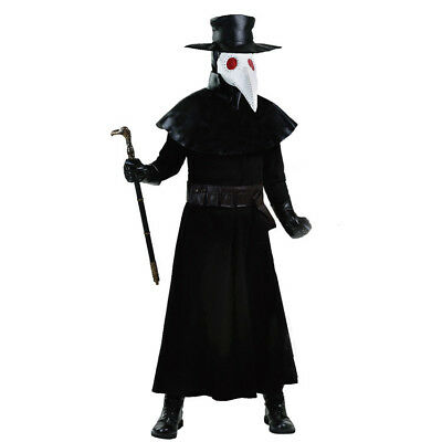 Game Darkest Dungeon The Plague Doctor Cosplay Costume Halloween With Mask Hat