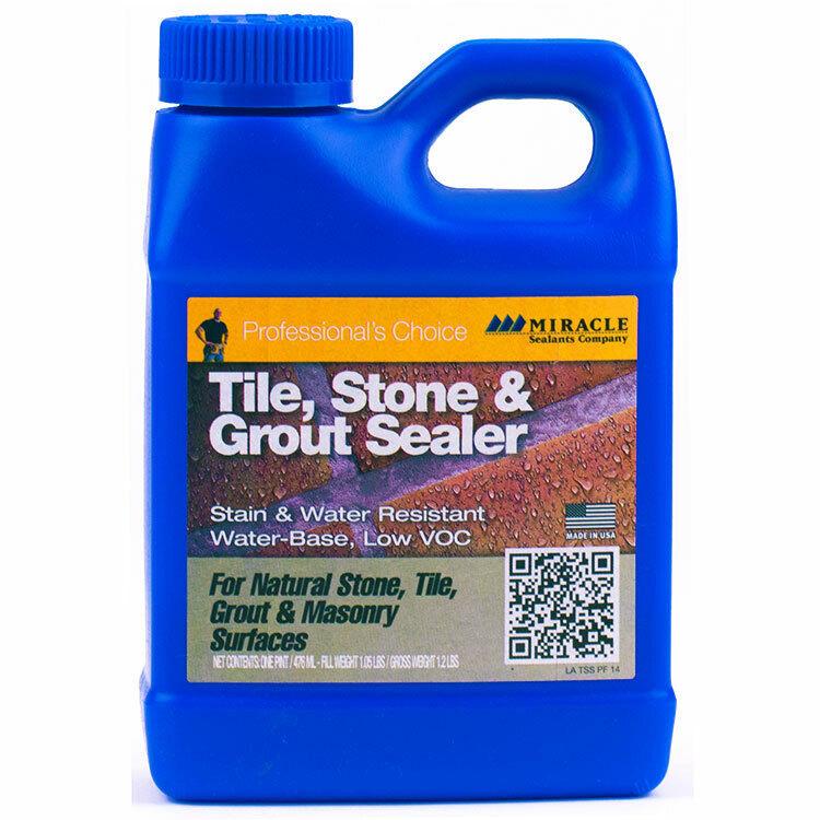 Miracle Sealants Tile Stone & Grout Sealer Pt