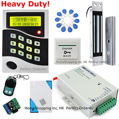 125KHz RFID Card + Password Door Access Control System + Embedded Magnetic Lock
