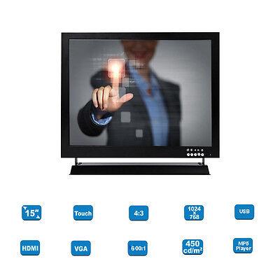 """Монитор HD Touch Screen 15"""" TFT"""