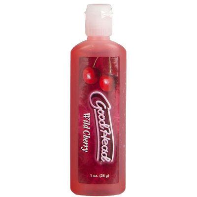 Goodhead Flavored Oral Sex Gel Good Head Blow Edible WILD CHERRY 1 oz. ()