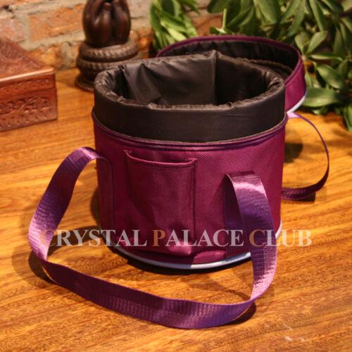 New Crystal Singing Bowl Bag Case,8 Inch