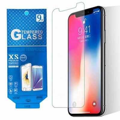 FLAT UNIVERSAL FIT Samsung S7Edge S8/S9 Plus Note 5,8,9 Tempered Glass Protector Flat Tempered Glass