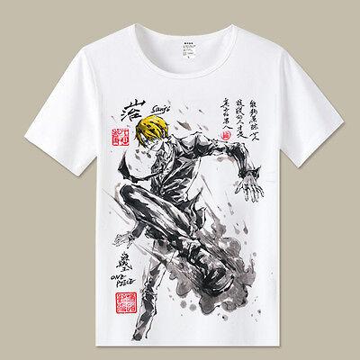 Cosplay One Piece sanji Anime Manga T-Shirt Kostüme Polyester - Sanji Cosplay Kostüm