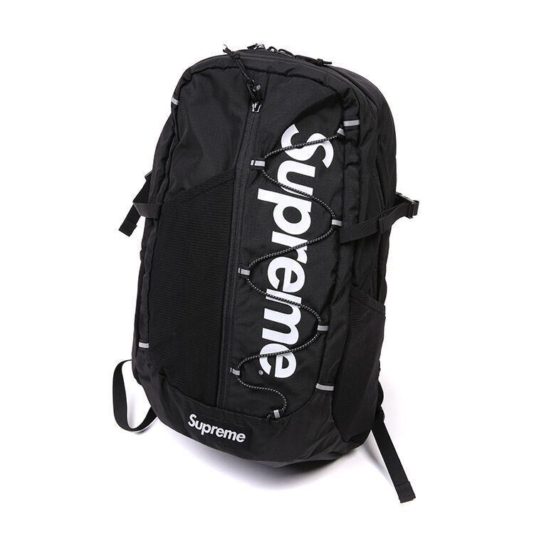 509a4bff667 Large Supreme Travel Backpack School Shoulder Bags Waterproof Laptop Unisex  UK