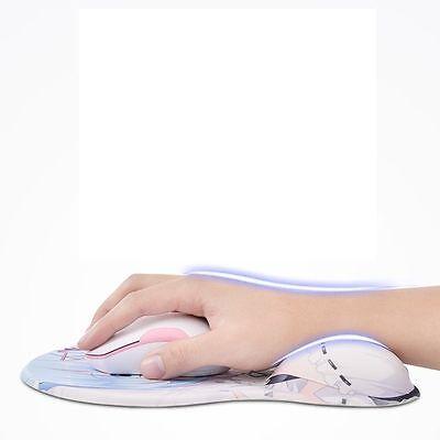 Azur Lane IJN Ayanami Japanese Anime 3D Soft Silicon Mouse Pad Mat Wrist Rest 2
