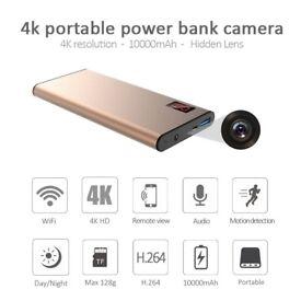 portable power source power bank hidden spy wireless camera