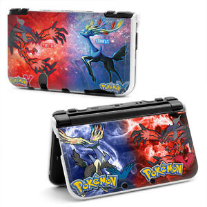 Pokemon xy hard case cover for old style nintendo 3ds xl for Housse 3ds xl pokemon