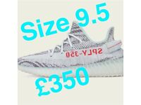 Yeezy boost blue tint - sold out - size 9.5