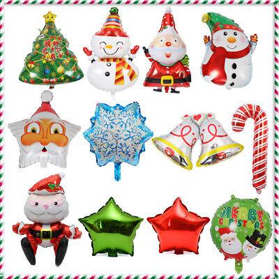 Hot Xmas Balloons Set Assorted Foil Ballon Christmas Tree Decoration Kids - Assorted Foil