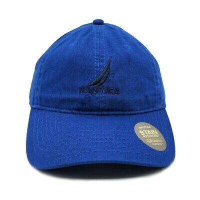 Nautica Cap Baseball Golf Ball Classic Sport Casual Royalblue Unisex Hat