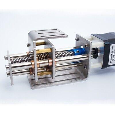 Cnc Z-axis Slide Engrave Machine150mm Stroke Linear W Motor Milling T8-z150 Ts