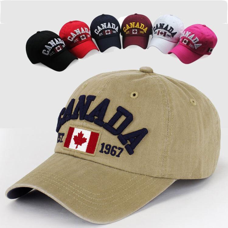 Original CANADA Basecap T2 Mütze Unisex Must-Have Vintage Baseball Outdoor Cap