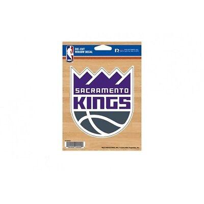 sacramento kings nba basketball logo sticker auto car emblem decal usa made