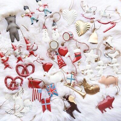 Christmas Tree Hanging Angel Bear Santa Bells Decor Xmas Party Wedding - Angel Christmas Tree Decorations